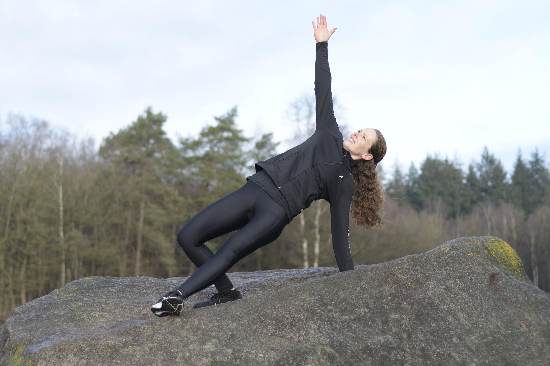 Laura Stigter balans hunebed